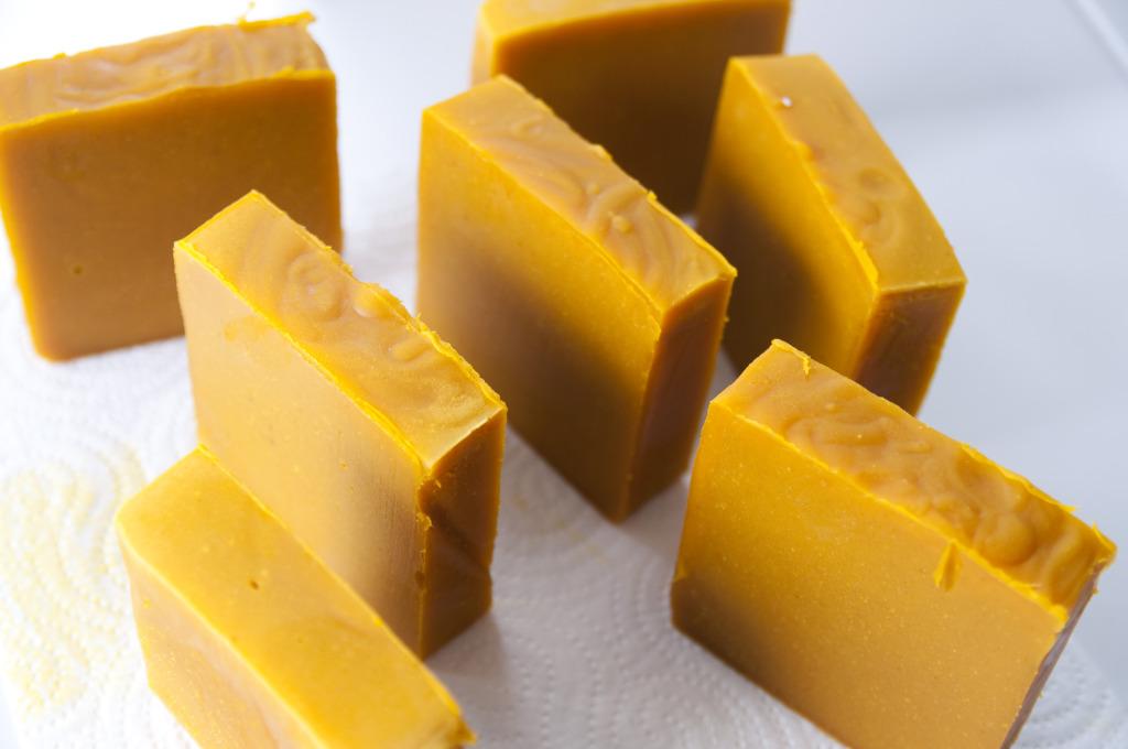 DIY Ginger soap