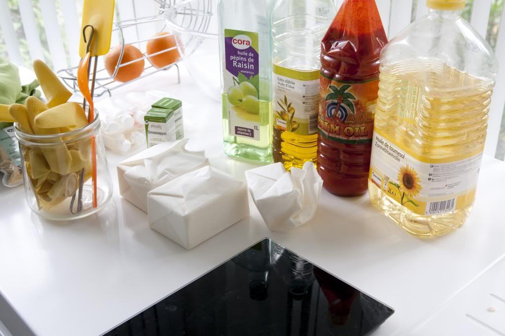 DIY scrub zeep soap