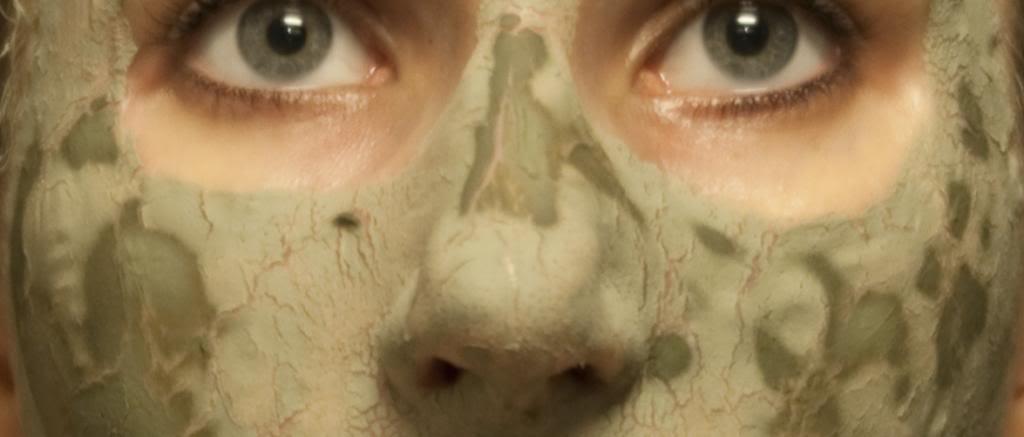 DIY green clay mask masker groene klei