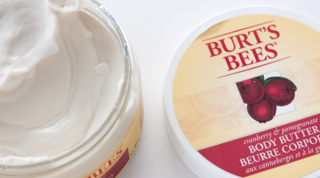 review burt's bees body butter cranberry pomgranate_3
