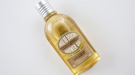review l'occitane amande huile de douche