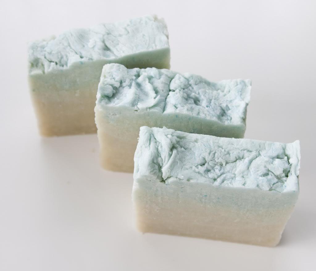 DIY ombre soap