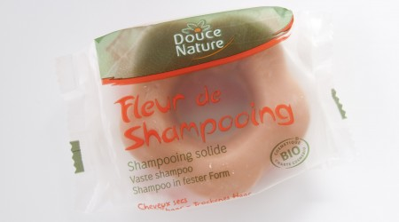 review douce nature solid shampoo