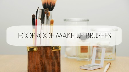 ecoproof make-up brushes