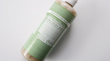 review dr bronners green tea soap