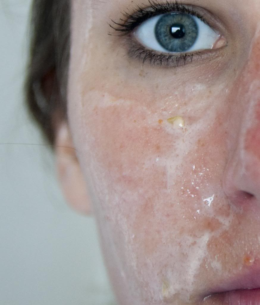 DIY exfoliating face mask
