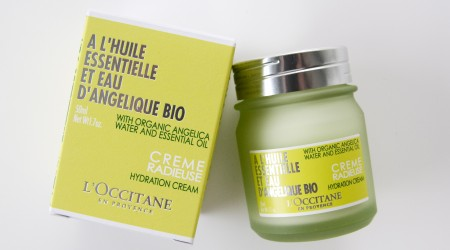 review l'occitane creme radieuse