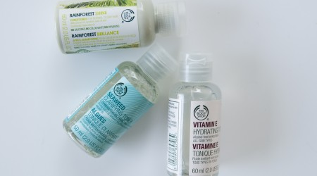 review the body shop rainforest shine conditioner