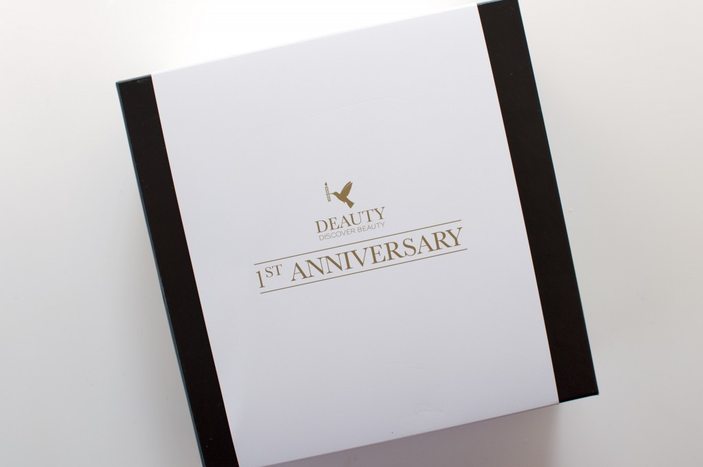 deauty anniversary august box