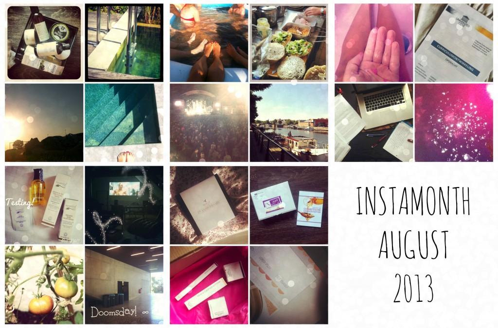 instamonth august 2013