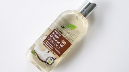 Dr. Organic coconut oil shampoo review