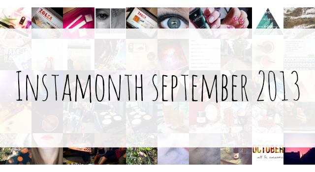 Instamonth september 2013