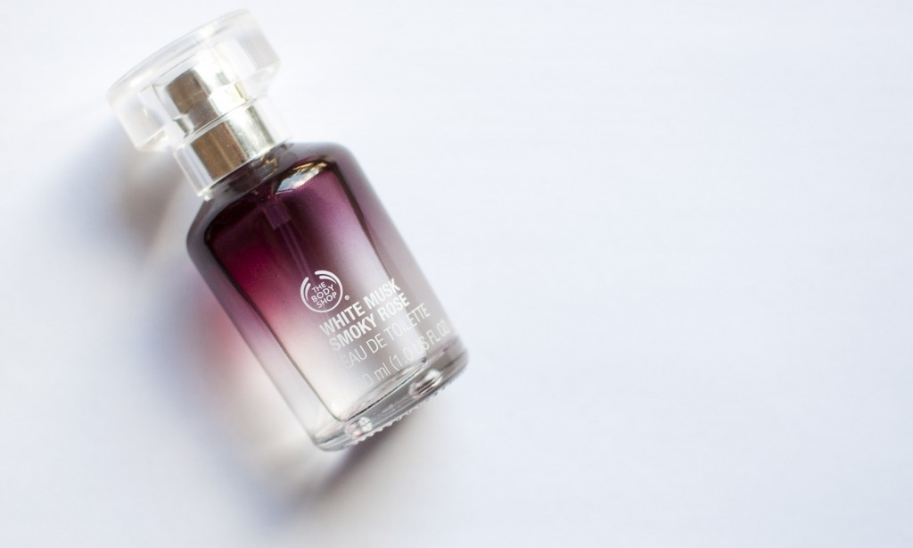 review The body shop White musk smoky rose