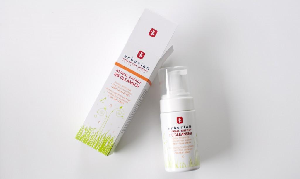 Review Erborian BB Cleanser Herbal Energy