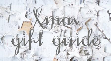 xmas holiday gift guide 2013