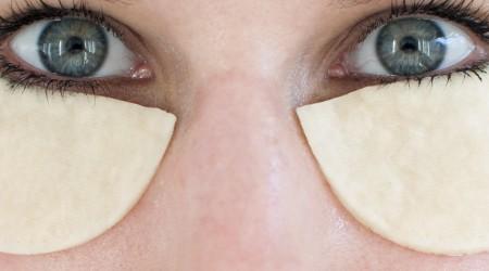 DIY eye pads