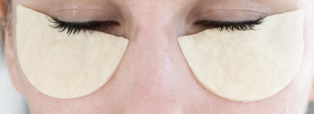 DIY eye pads
