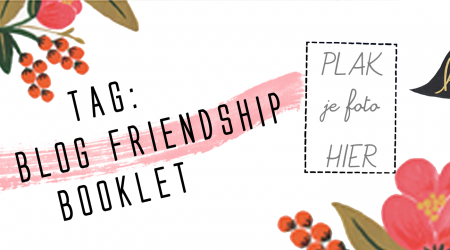 tag the blog friendship booklet