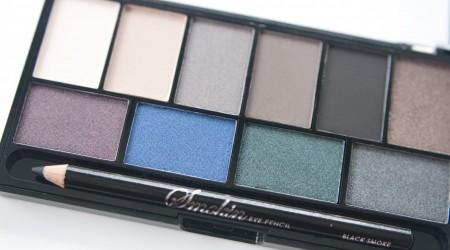 review MUA smokin palette