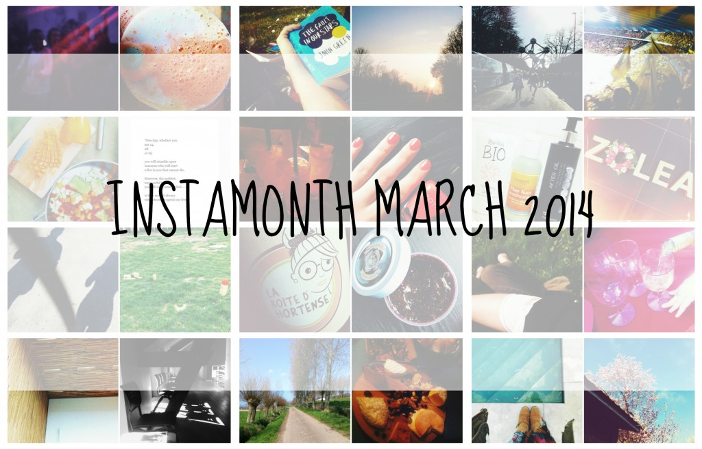Instamonth march 2014
