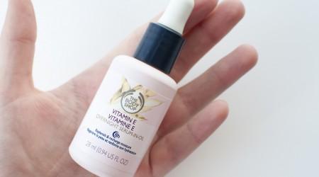 review the body shop vitamin E overnight serum-in-oil