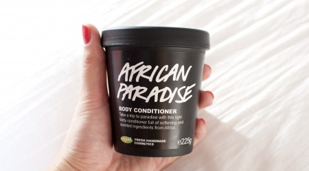 review lush african paradise