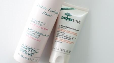 Review Nuxe Lotion Tonique Douce en Body Scrub