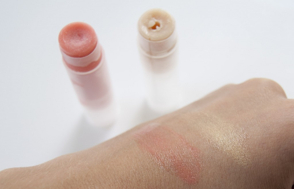 diy blush highlighter stick solid
