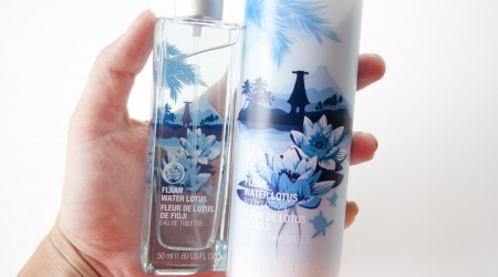 review the body shop fijan water lotus