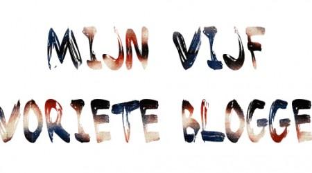 favoriete Belgische bloggers