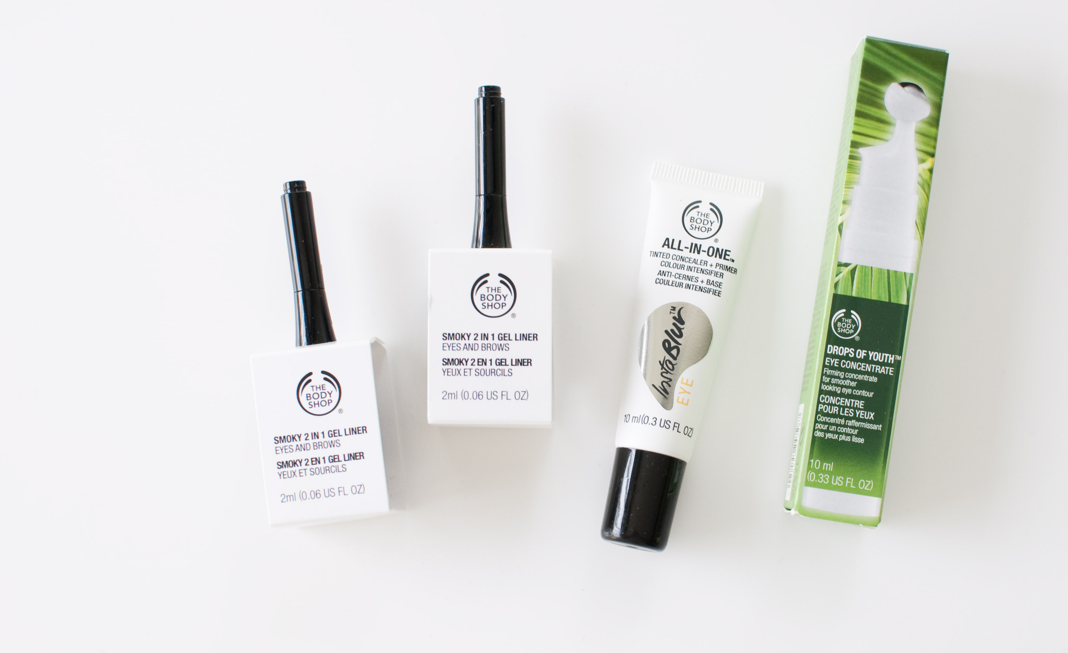 Review The Body Shop New Eye Products Zolea