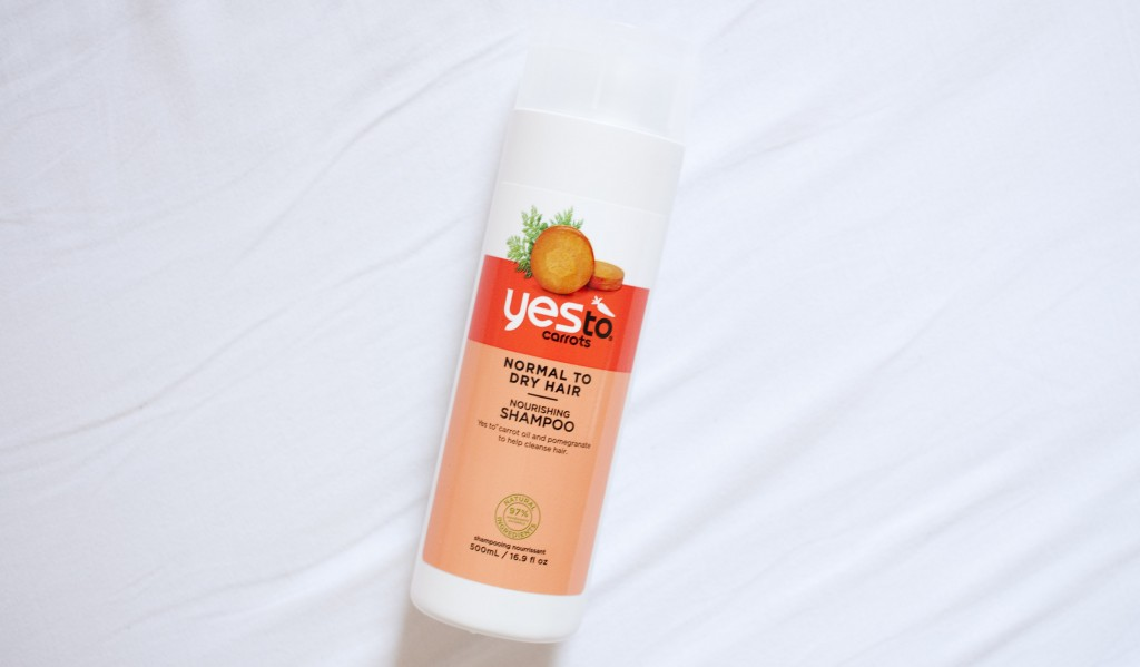review yes to carrots nourishing shampoo
