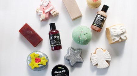 review lush 12 days of christmas
