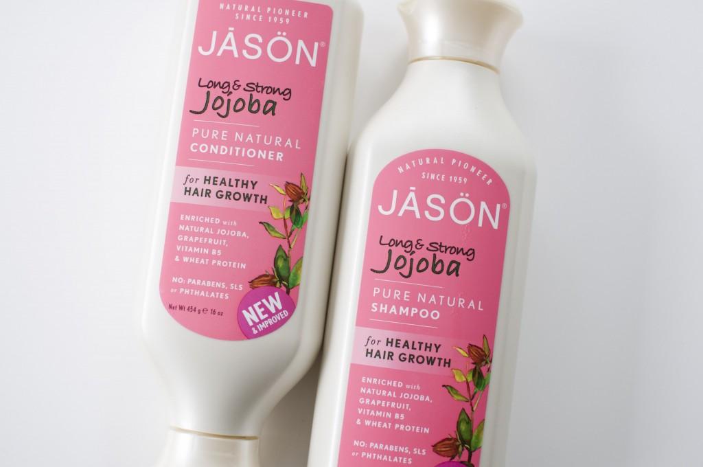 review Jason Jojoba conditioner shampoo long & strong