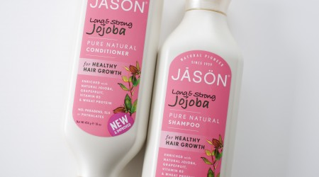 review Jason Jojoba conditioner shampoo long & strong