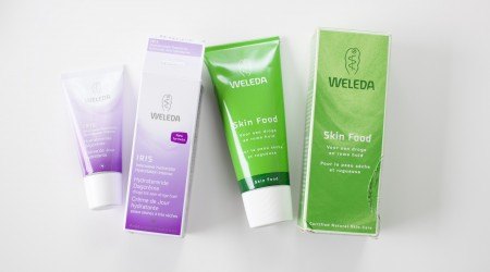 review Weleda creme skinfood iris
