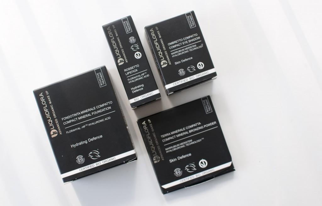 review liquidflora make-up foundation bronzer eyeshadow lipstick