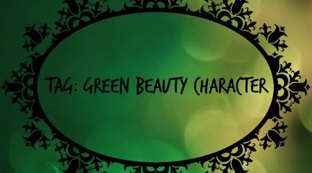 green beauty character tag