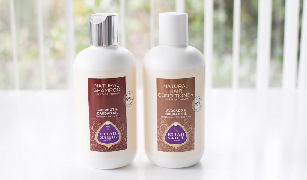 review Eliah Sahil shampoo conditioner baobab oil natural hair
