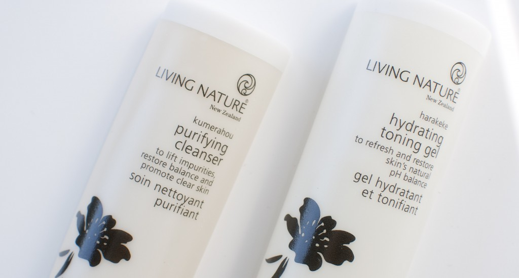 review living nature purifing cleanser hydrating toning gel