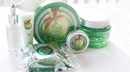 review the body shop candy apple kerst 2014