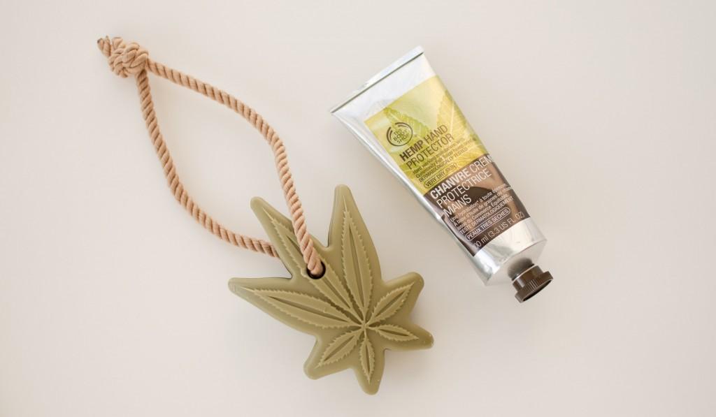 review The Body Shop hemp hand cream soap roap