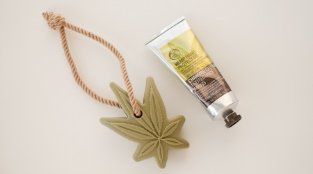 review The Body Shop hemp hand cream soap roap