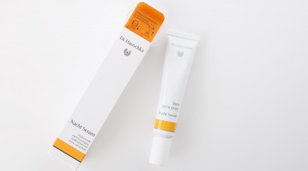 review dr hauschka nacht serum