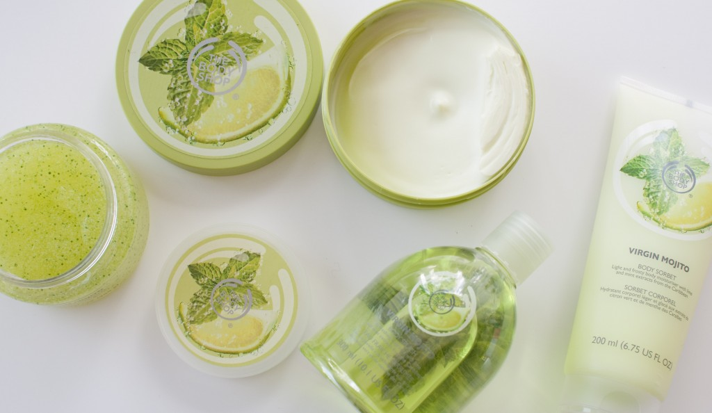 review the body shop virgin mojito