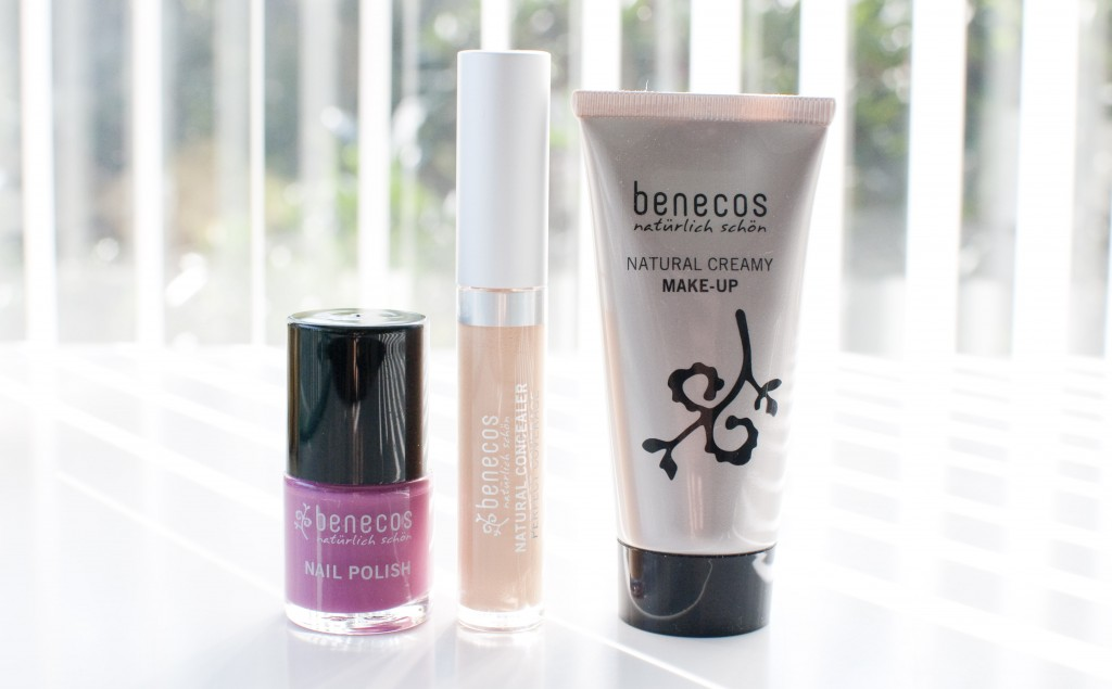 review benecos creamy foundation concealer
