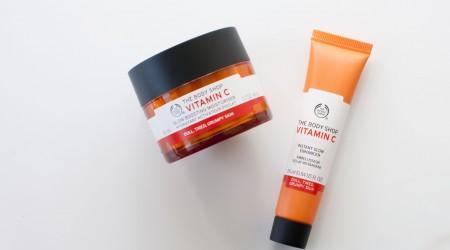 review the body shop vitamin C