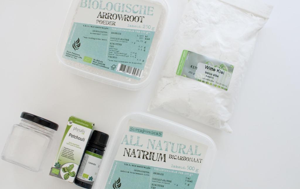 diy deodorant powder natural