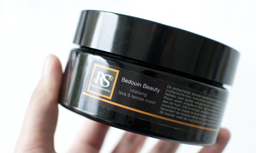 review RS cosmetics bedouin beauty himalaya lava face mask