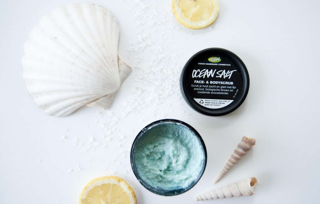 review lush ocean salt scrub